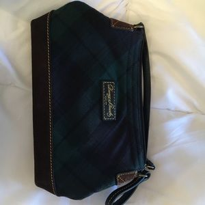Dooney & Bourke green plaid purse
